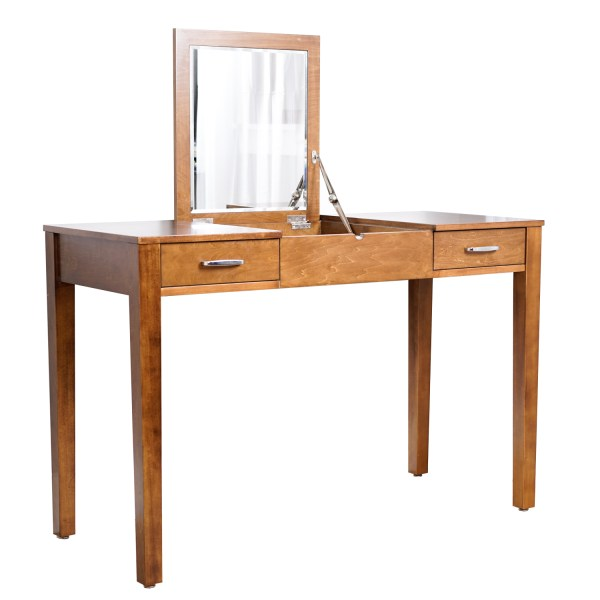 Ainsley Vanity Desk Deco Brown - Hives And Honey