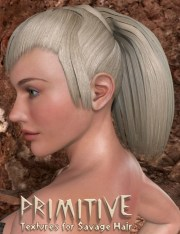 primitive textures savage hair