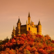 hohenzollern fantasy burg castles castle picturesque germany gothic medieval mountain hivino travel most neo swabia located makes read discover
