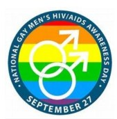 logo image for National Gay Men's HIV Aids awareness day