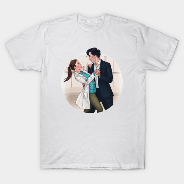 Sherlolly Dancing in the Morgue T-Shirt