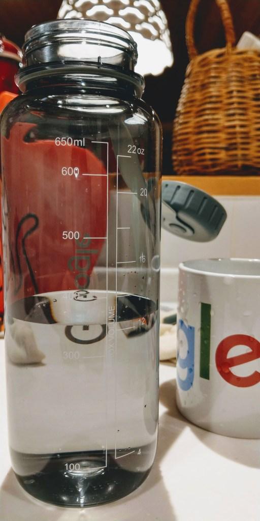 Googleマグカップの容量