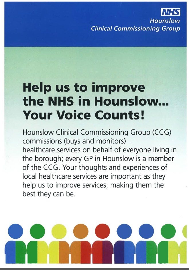Hounslow CCG PPG - Image