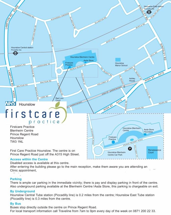 Map - Firstcareii