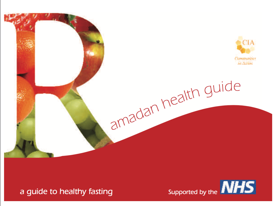 Ramadan Health Guide Image
