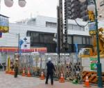 オズ通り(仮称)KMGビル2号の建設現場