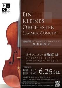 慶應義塾大学湘南藤沢キャンパスが設立された1990年当初に結成されたアインクライネスオーケストラに島田さんは所属。今年夏の演奏会では初めて指揮者として舞台に立った