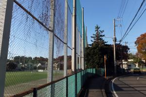 慶應大は下田町1丁目周辺に野球・サッカー・ラグビーのグラウンドを持っている