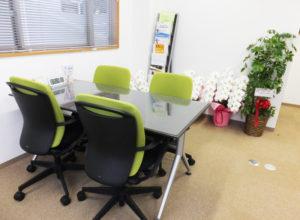 じっくり相談できるよう、オフィスの内装も新たにより寛ぎやすい空間へと変更予定。来月(2017年)6月上旬には実施したいと澤口さん