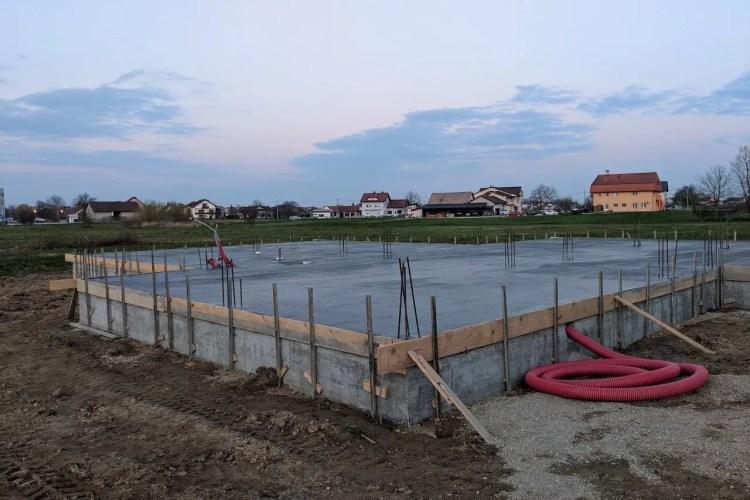 Betoniranje temelja