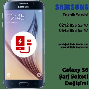 Samsung Galaxy S6 Şarj Soketi Değişimi