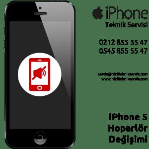 iPhone 5 Hoparlör Değişimi