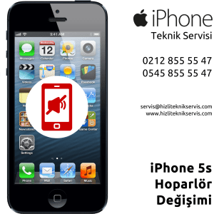 iPhone 5S Hoparlör Değişimi