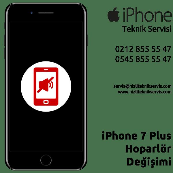 iPhone 7 Plus Hoparlör Değişimi