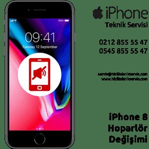 iPhone 8 Hoparlör Değişimi