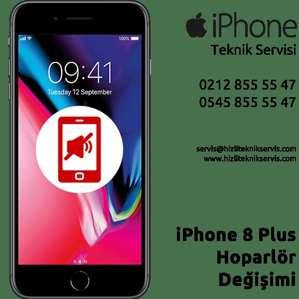 iPhone 8 Plus Hoparlör Değişimi