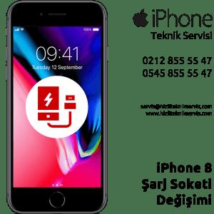iPhone 8 Şarj Soketi Değişimi