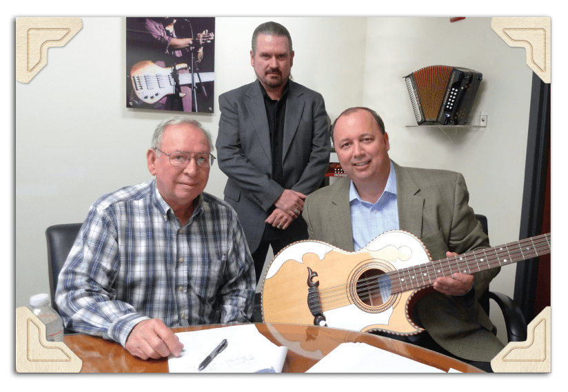 Layo Jimenez Luthier Jimenez Bajo Quinto & Guitar, Rock Clouser Fretted Product Manager HOHNER, Inc., Clay Edwards President HOHNER, Inc.