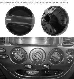 details about ac heater blower fan climate control knob for toyota tundra 2000 2006 [ 1001 x 1001 Pixel ]