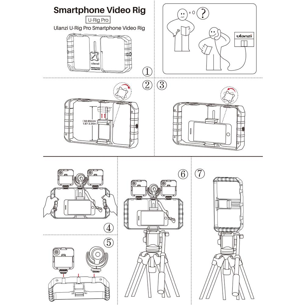 Ulanzi U-Rig Pro Smart Phone Rig Video Handheld Stabilizer