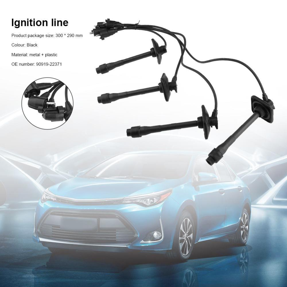 medium resolution of details about for toyota camry rav4 solara 97 01 spark plug ignition lead wire set 90919 22400