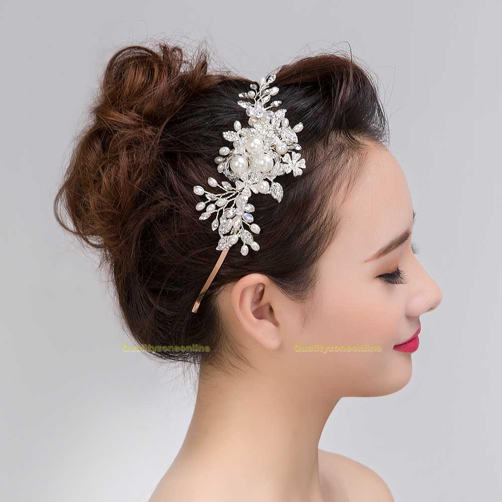 Braut Haarschmuck Hochzeit Haarband Haargesteck Haarreif