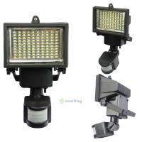 100 LED Solar Powered Motion Sensor Security Flood Light ...