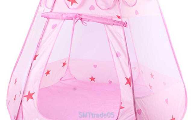 Kids Baby Girls Princess Game Toy Tent Ocean Ball Pit Pool