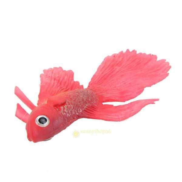 Plastic Fake Fish Floating Artificial Fish Vivid Landscape