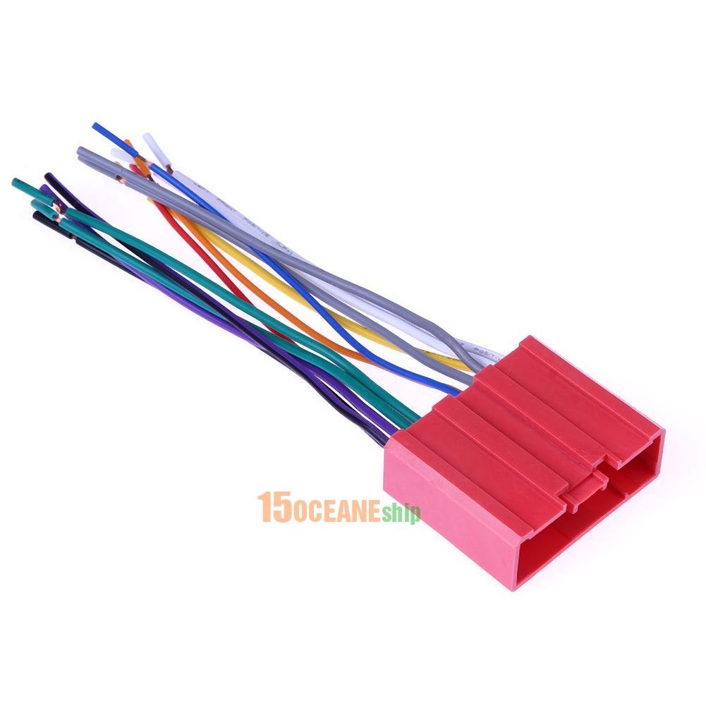 hight resolution of details about 1pc car stereo cd player radio wiring harness adapter plug for mazada 2 3 5 6
