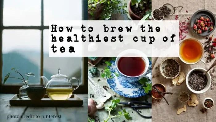 給愛喝茶的你:如何泡出最健康的一杯茶
