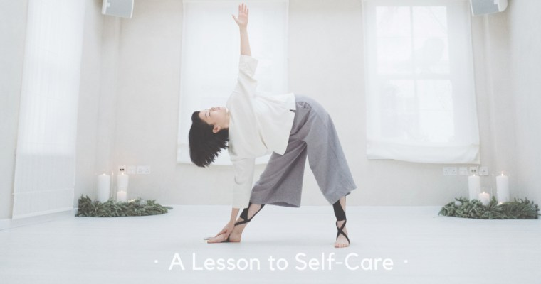 A Lesson to Self-Care・好好照顧自己| by charlotte in white