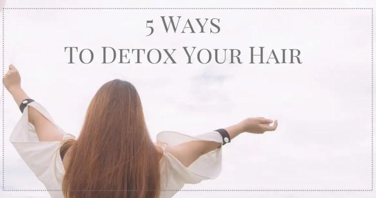 【學會5個頭皮排毒妙招・輕鬆擁有讓人羡慕的美麗秀髮!】