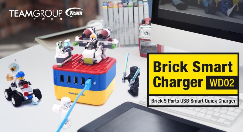 創意無限延伸 十銓科技推出多埠USB充電座『方塊充』WD02