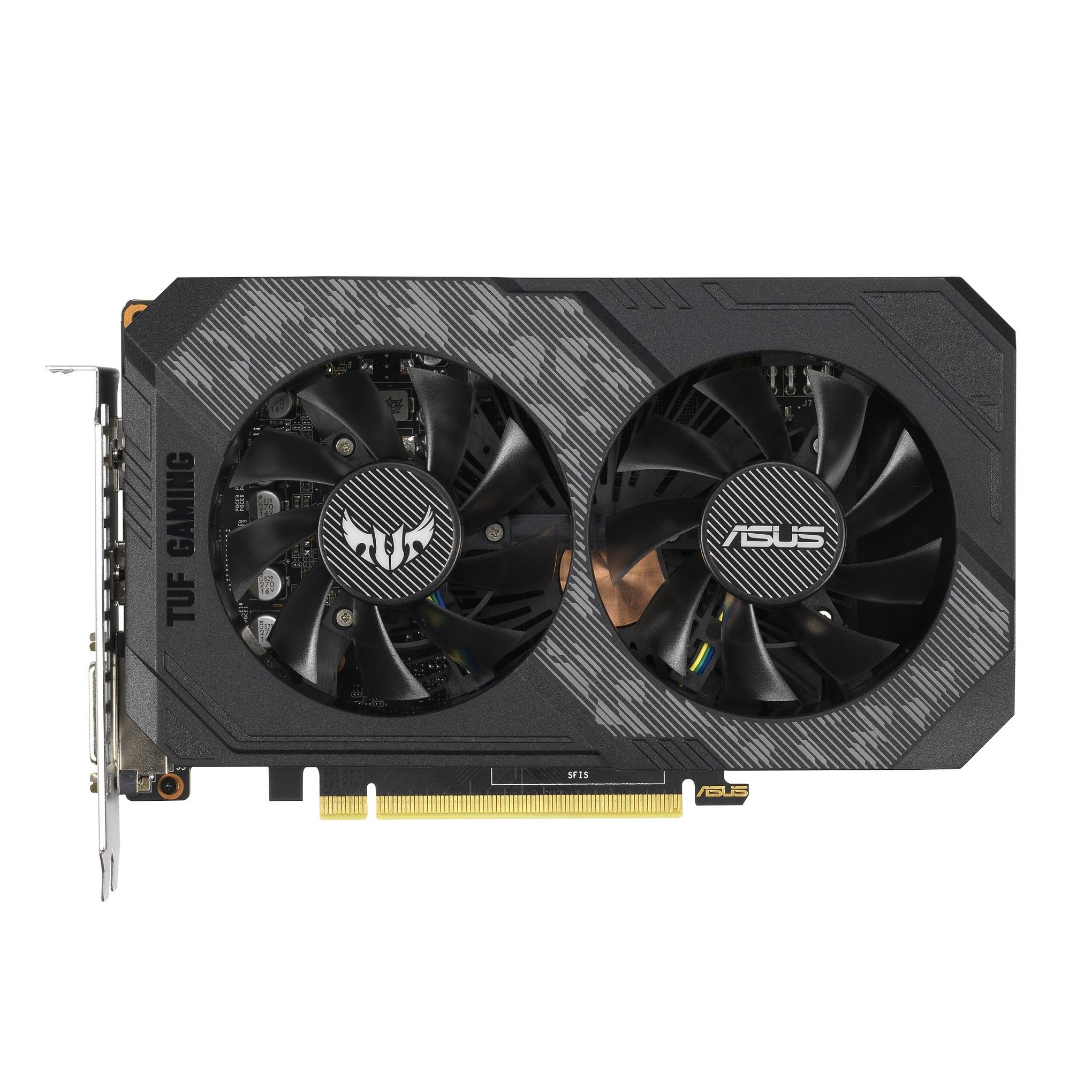 ASUS TUF Gaming GeForce GTX 1660 相當適合升級週期較長的電競玩家