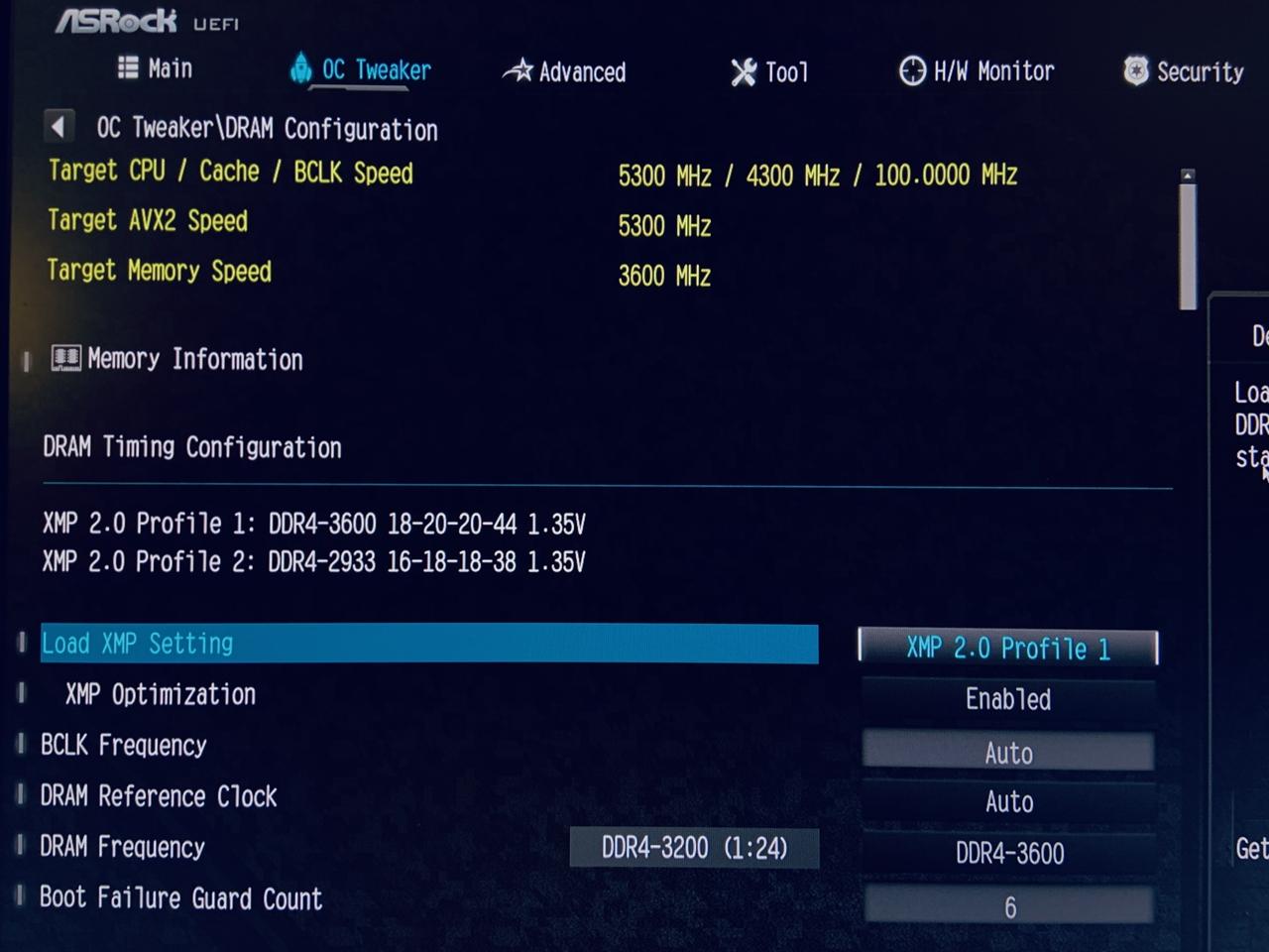 antec katana ddr4-3600 install bios
