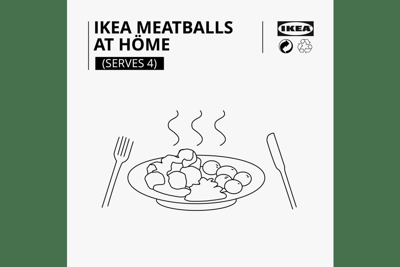 自行動手做!IKEA 發佈著名「瑞典肉丸」製作食譜