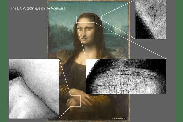 科學家發現暗藏於《Mona Lisa》底下之前所未見的「神秘女子」草圖