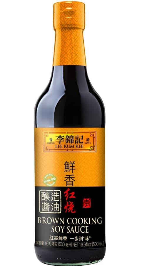 鮮香紅燒釀造醬油   豉油   李錦記美國   USA