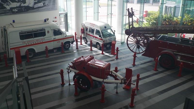 消防迷注意 之「消防及救護學院(教育中心暨博物館)」 曾媽三寶