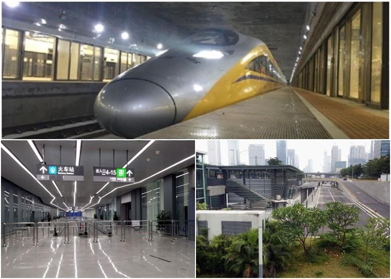 深圳高鐵福田站今日通車 赴廣州最快42分鐘 - 東網即時