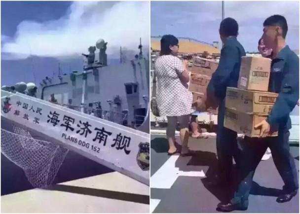 中國海軍澳洲掃奶粉? 一箱箱搬上艦捱轟 即時新聞 大陸 on.cc東網