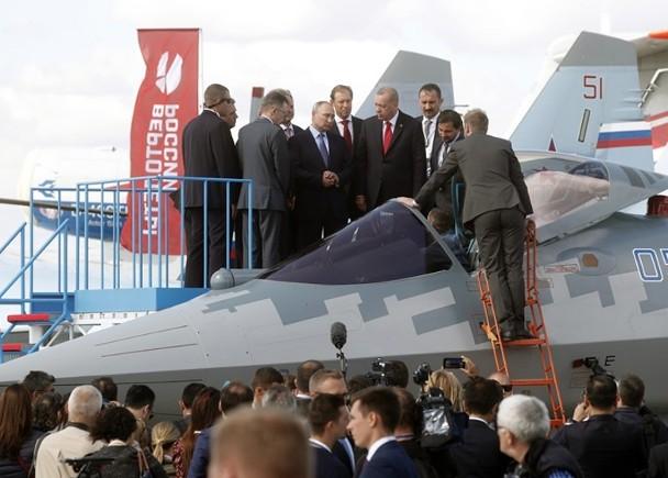 視察俄製隱形戰機 埃爾多安有意採購代F35 即時新聞 亞歐非 on.cc東網