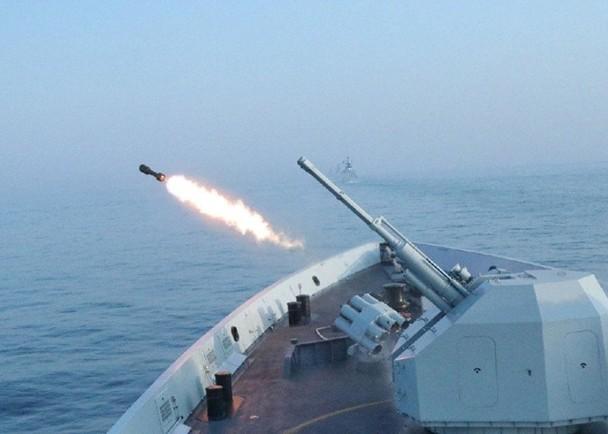 中俄聯合軍演 雙方艦艇首聯合實射導彈擊落靶機|即時新聞|兩岸|on.cc東網