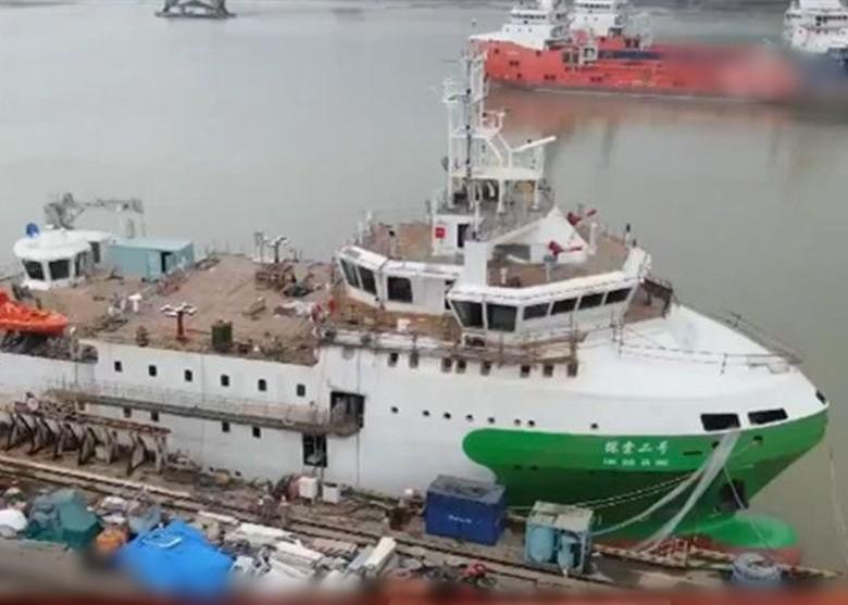 潛水器支援船「探索二號」 抵三亞崖州灣候命 即時新聞 兩岸 on.cc東網