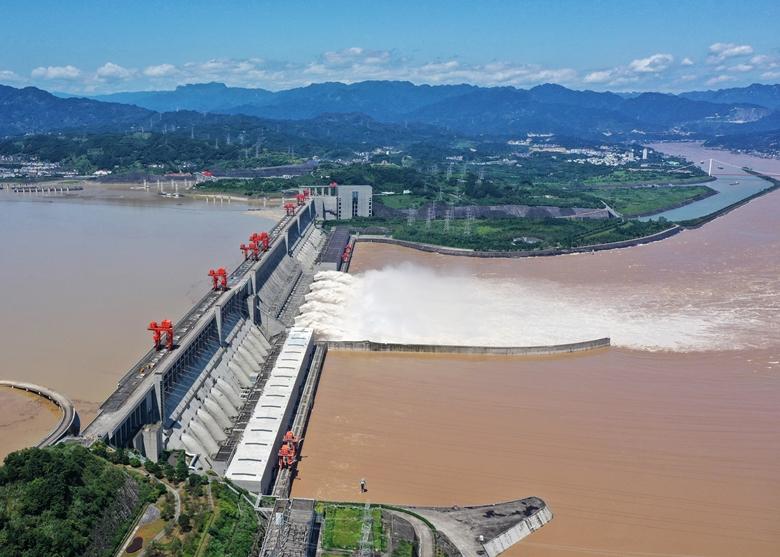 長江第3號洪水過境 千年古鎮磁器口遭洪水淹沒|即時新聞|兩岸|on.cc東網