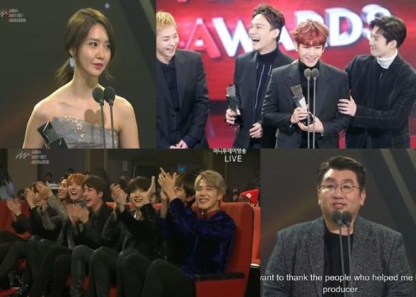 EXO再捧兩獎 BTS老闆方時赫奪製作人獎 即時新聞 東網巨星 on.cc東網
