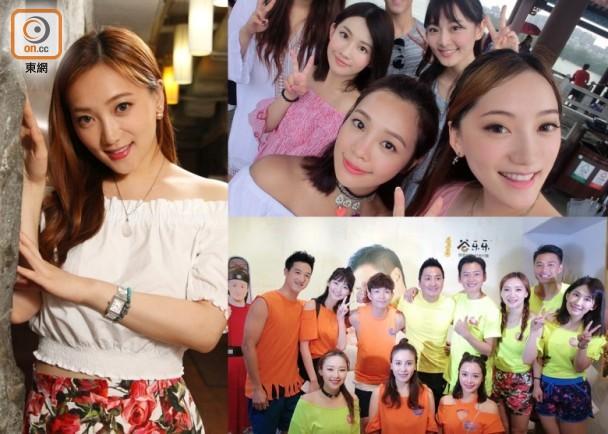 季蘋蘋唔熟水性 挑戰水上遊戲嗌過癮 即時新聞 東網巨星 on.cc東網