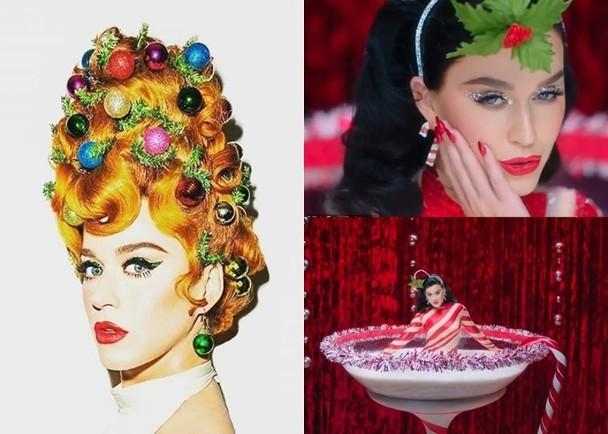 相隔一年出MV Katy Perry扮聖誕樹搞笑|即時新聞|東網巨星|on.cc東網