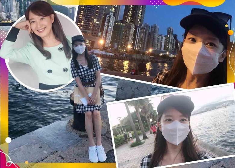 中環散步闖萬花筒 陳美齡:香港真好 即時新聞 繽FUN星網 on.cc東網